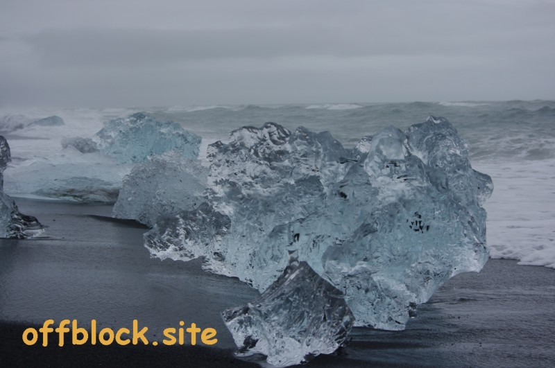 Ice Cubs at Jökulsárlón